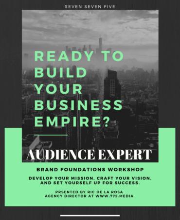 Audience Expert Brand Foundations Workshop Seven Seven Five Media 775